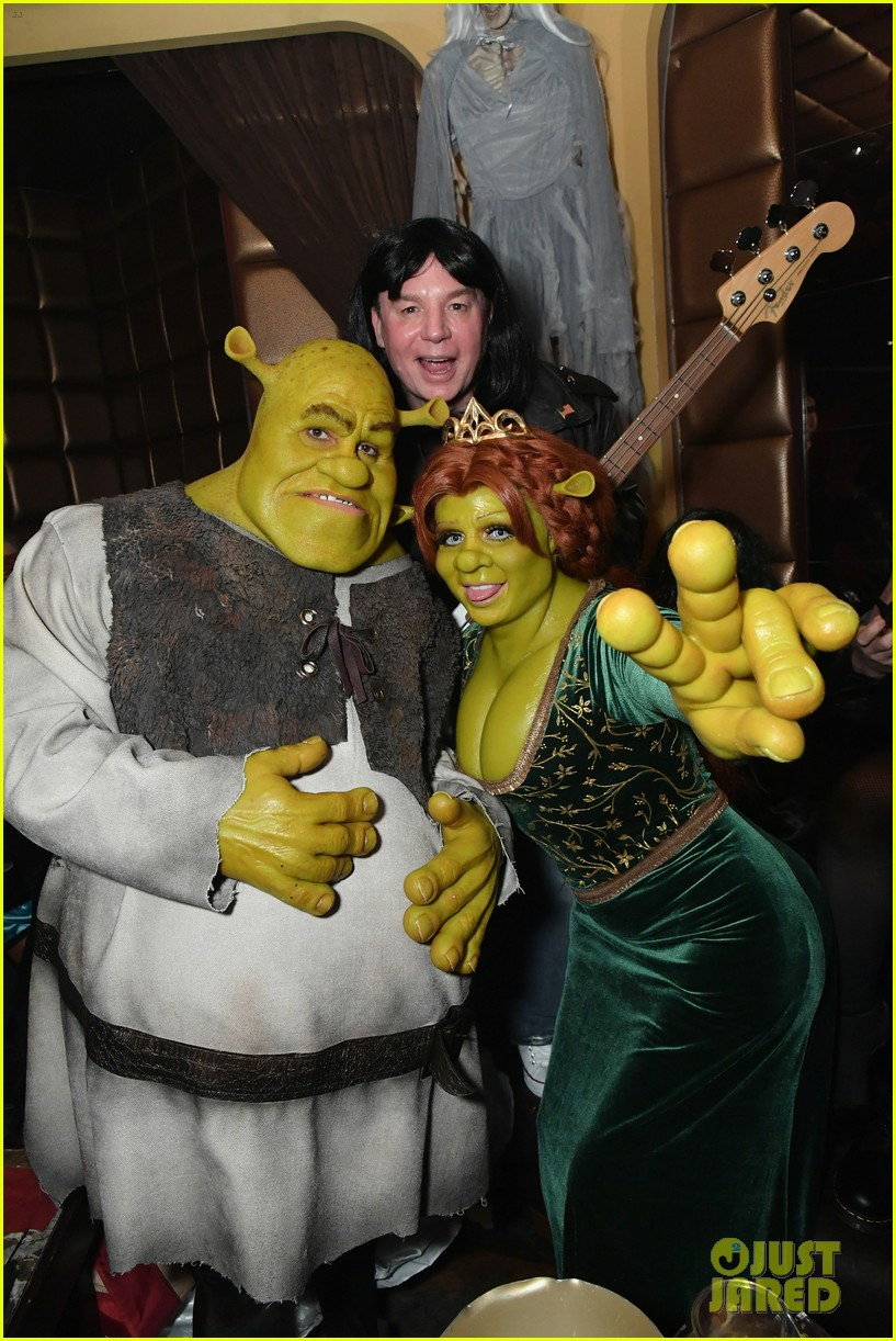 heidi klum & boyfriend tom kaulitz are shrek & princess fiona at
