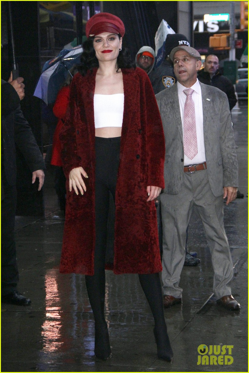 Jessie J This Christmas Day.Jessie J Gets Busy Promoting This Christmas Day In New