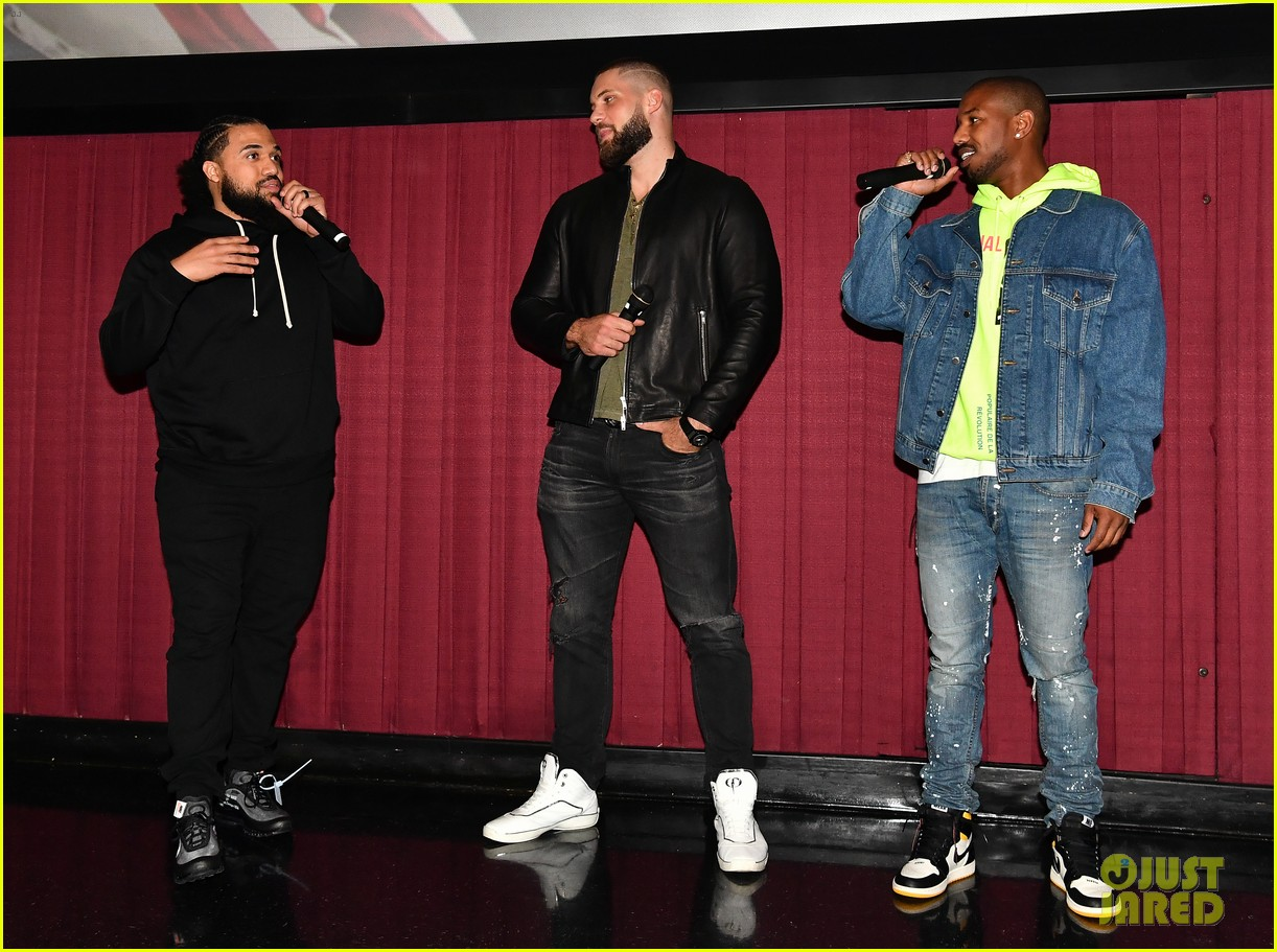 Image result for michael b jordan atlanta creed ii screening