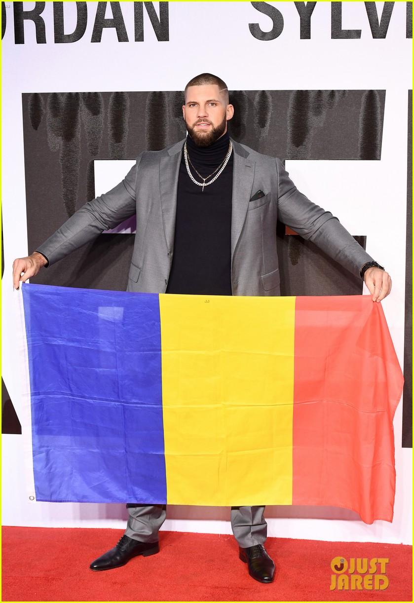michael b jordan tessa thompson hit red carpet for european premiere of creed ii 174189144