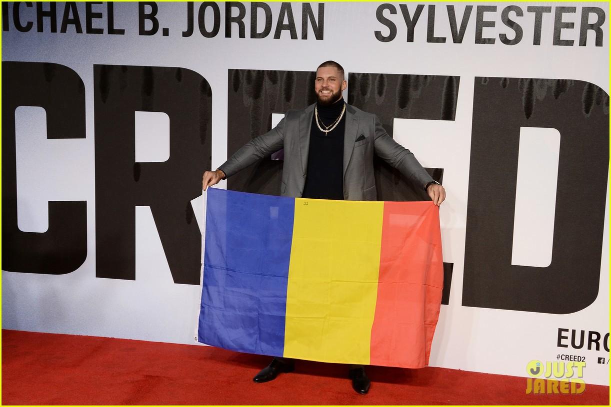 michael b jordan tessa thompson hit red carpet for european premiere of creed ii 344189161