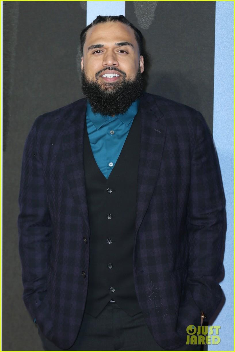 michael b jordan tessa thompson hit red carpet for european premiere of creed ii 364189163