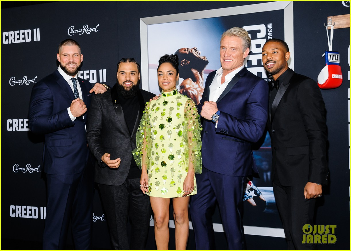 michael b jordan sylvester stallone more celebrate creed ii at new york premiere 014182960