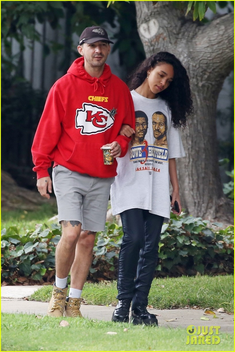 shia labeouf fka twigs low key morning 304178087