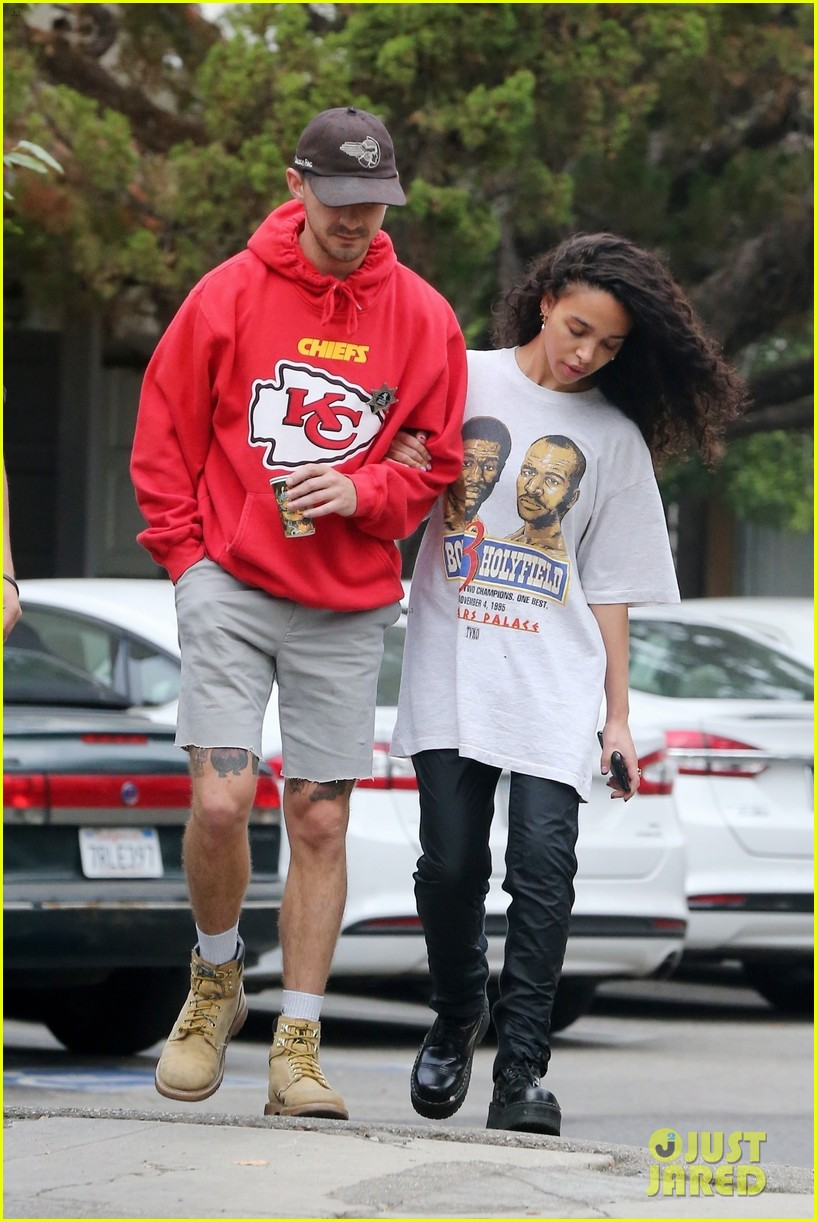 shia labeouf fka twigs low key morning 334178090