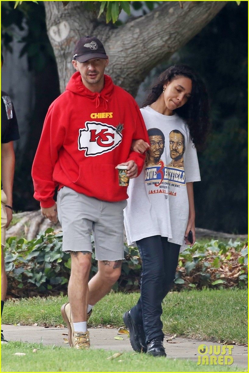 shia labeouf fka twigs low key morning 364178093
