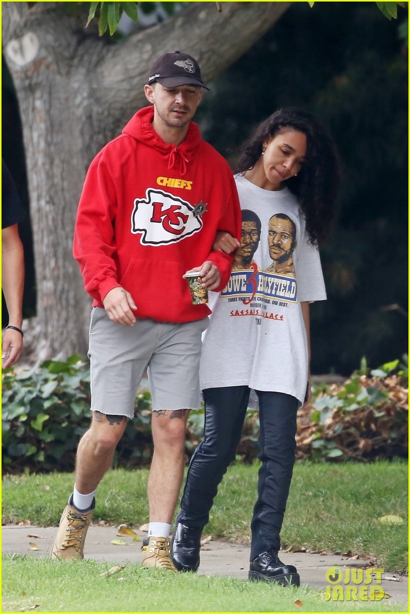 shia labeouf fka twigs low key morning 374178094