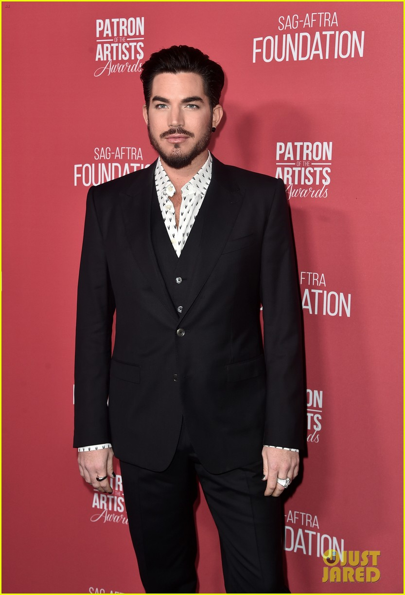 adam lambert kristin chenoweth hit stage to perform at patron artists awards 024179047