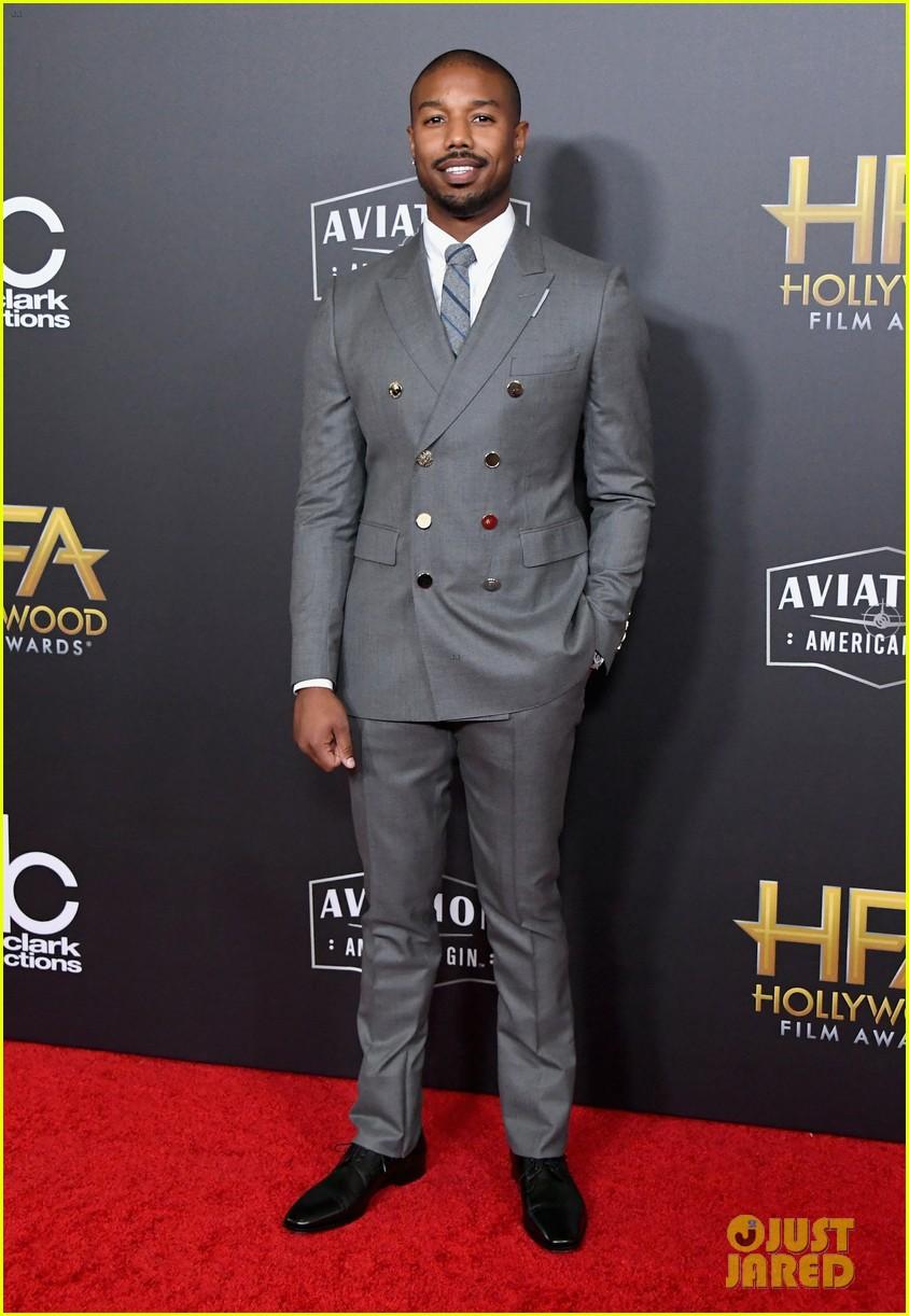 michael b jordan sterling k brown  hollywood film awards 2018 184175854
