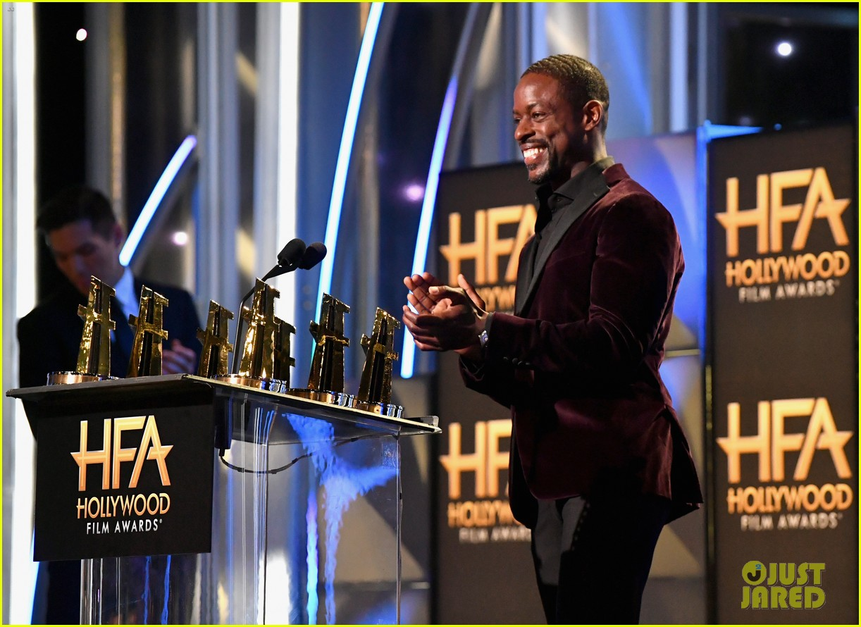 michael b jordan sterling k brown  hollywood film awards 2018 254175860