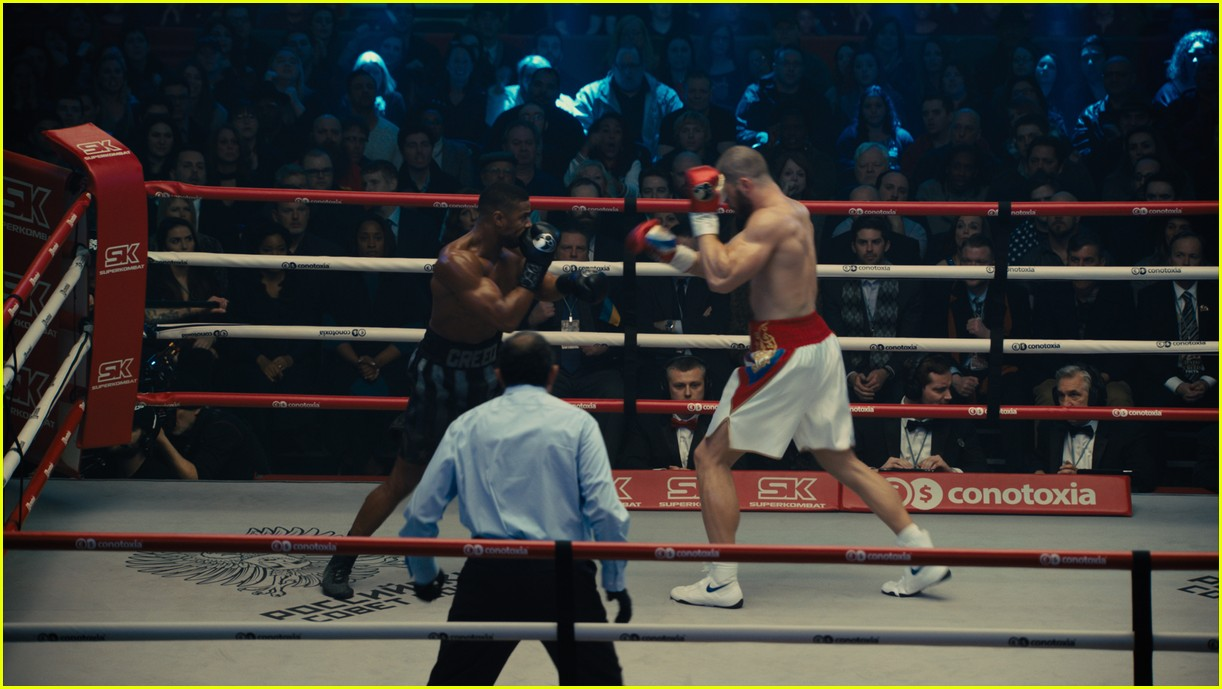 michael b jordan florian munteanu shirtless creed 194186379