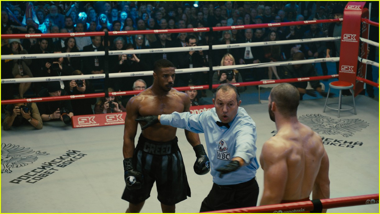 michael b jordan florian munteanu shirtless creed 214186381
