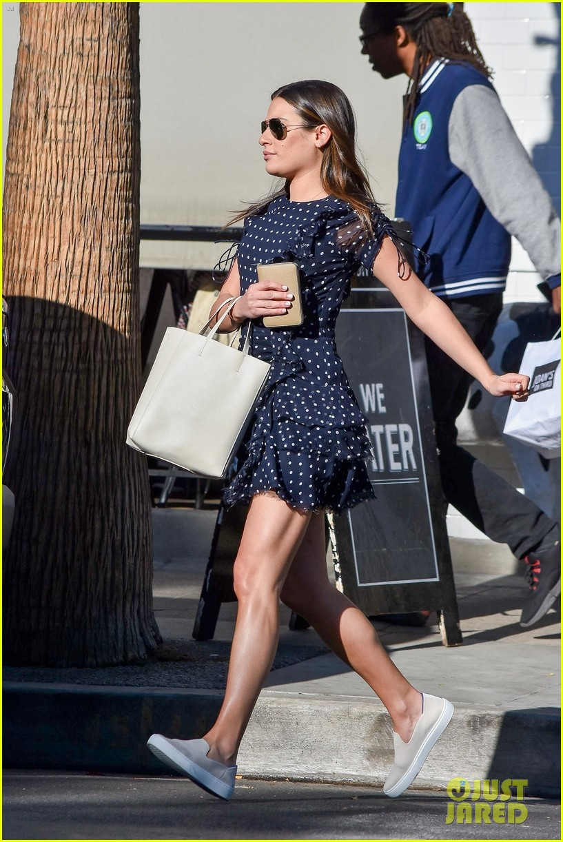 lea michele casual lunch 024182247