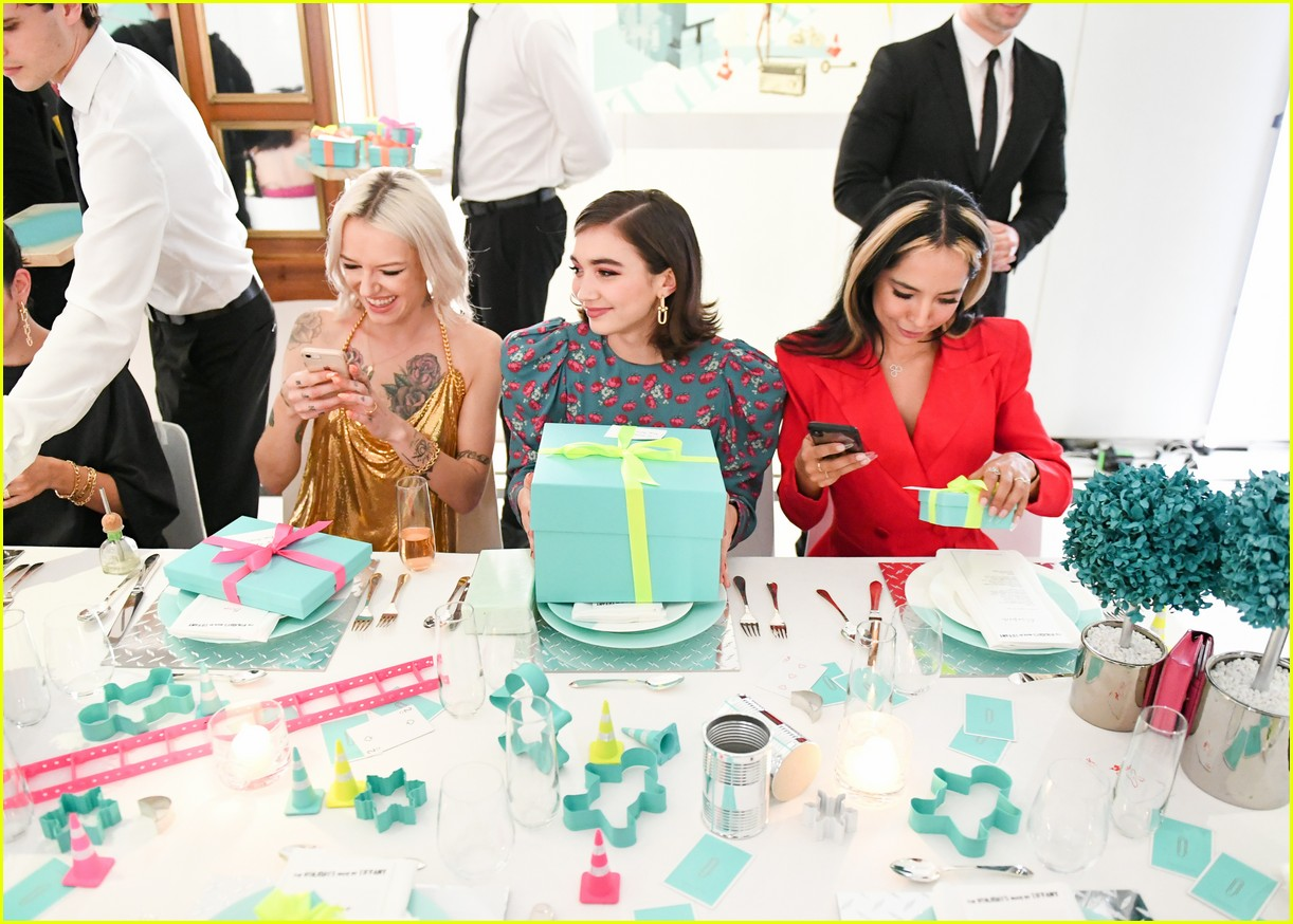 shay mitchell and rowan blanchard have girls night in with tiffany and co 054190517