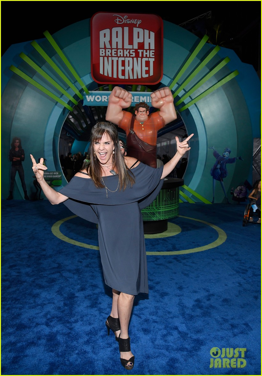 mandy moore taraji p henson and sarah silverman ralph breaks the internet world premiere 154176531