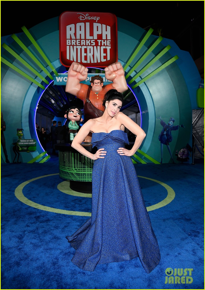 mandy moore taraji p henson and sarah silverman ralph breaks the internet world premiere 224176538