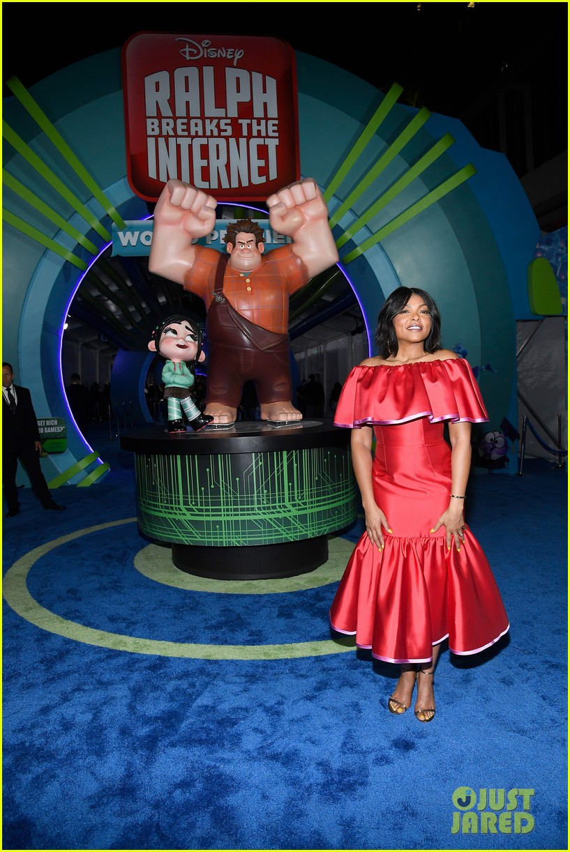 mandy moore taraji p henson and sarah silverman ralph breaks the internet world premiere 244176540