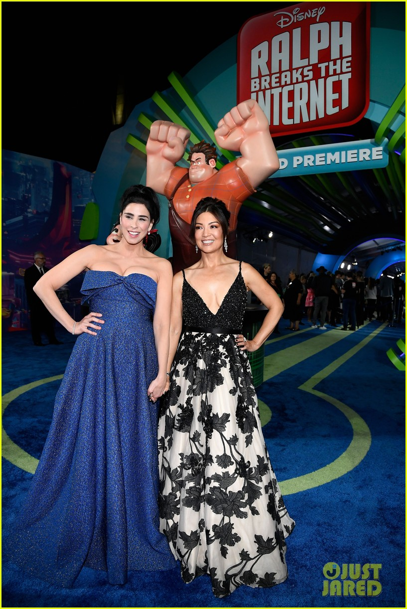 mandy moore taraji p henson and sarah silverman ralph breaks the internet world premiere 274176543