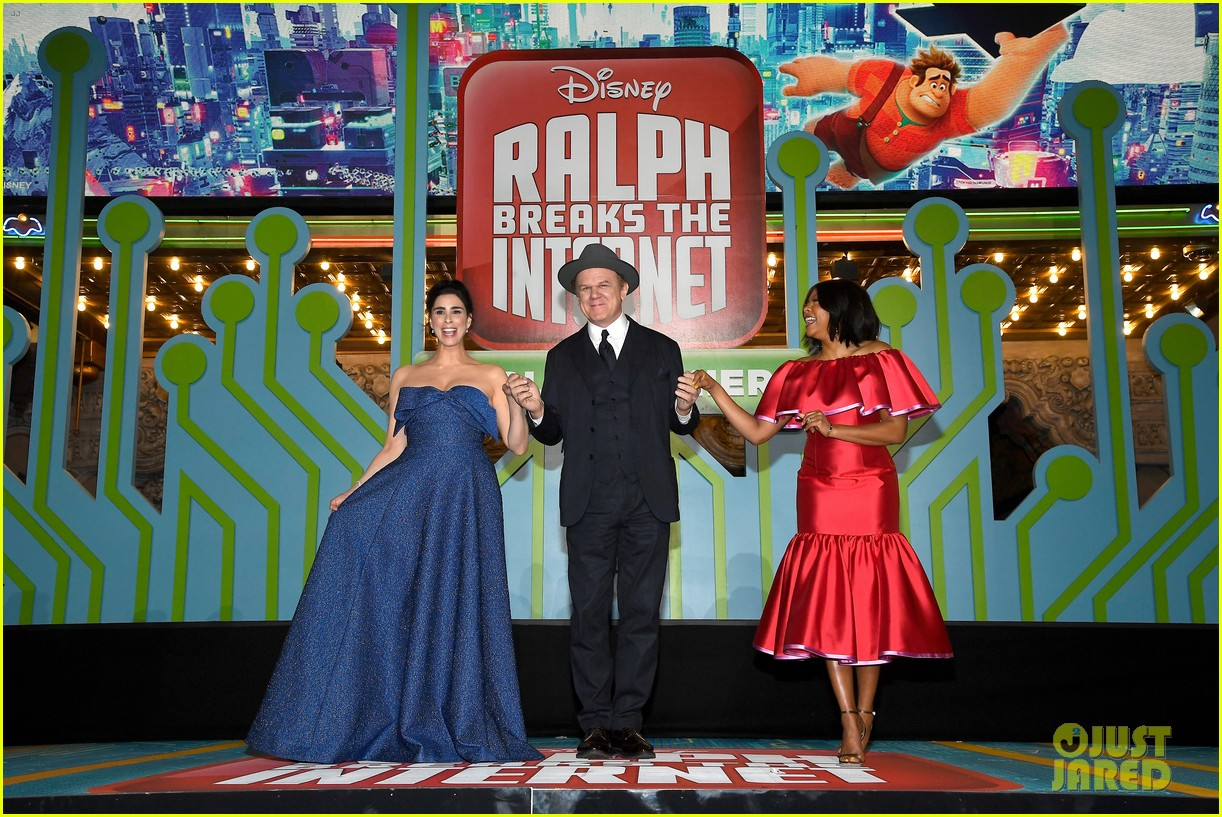 mandy moore taraji p henson and sarah silverman ralph breaks the internet world premiere 434176559