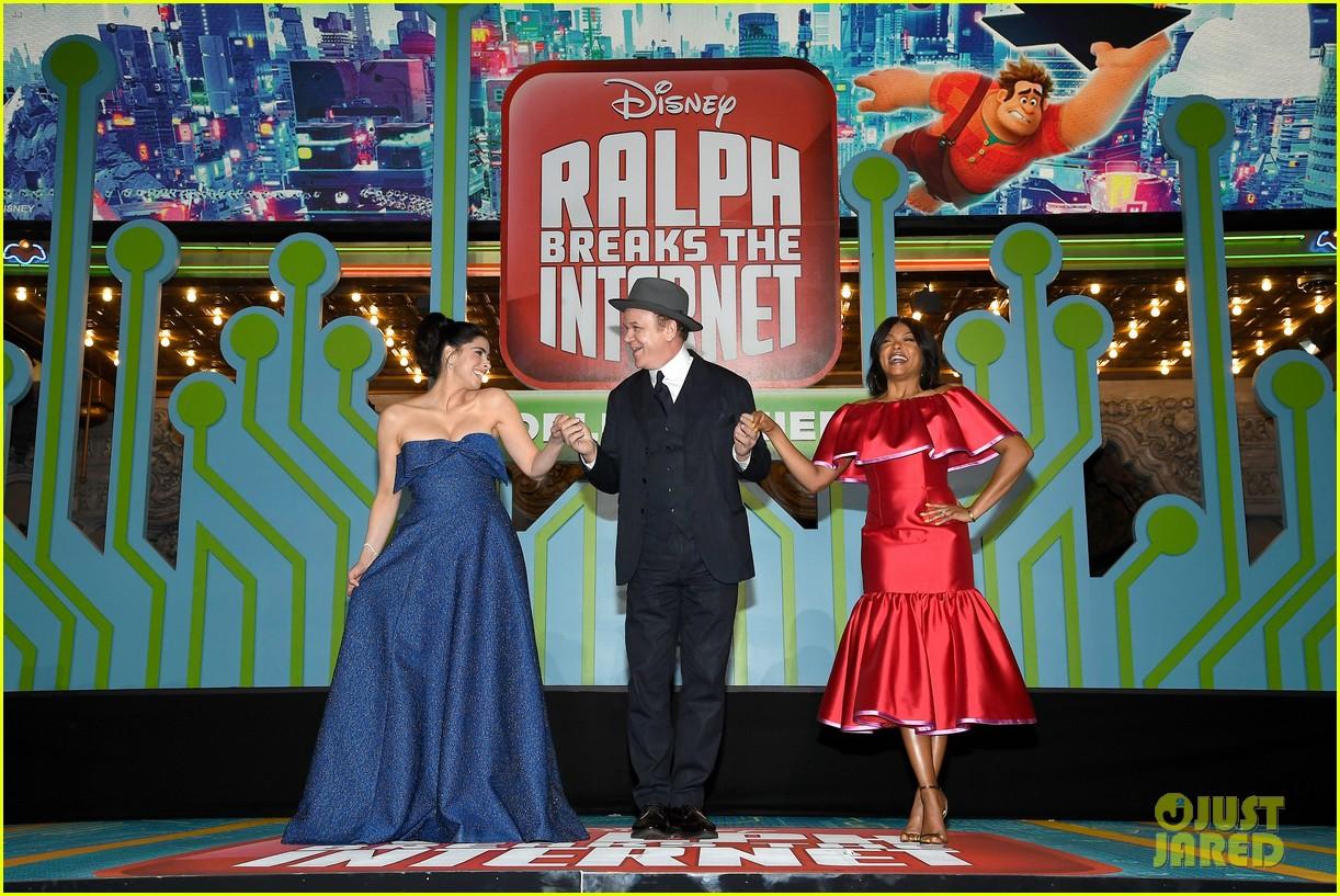 mandy moore taraji p henson and sarah silverman ralph breaks the internet world premiere 444176560