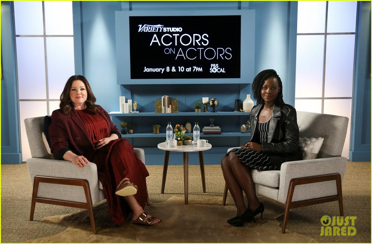 lupita nyongo john krasinski more join forces at variety studio actors on actors 2018 094184963