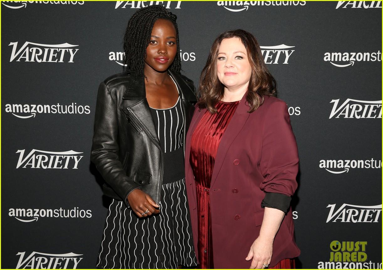 lupita nyongo john krasinski more join forces at variety studio actors on actors 2018 144184968