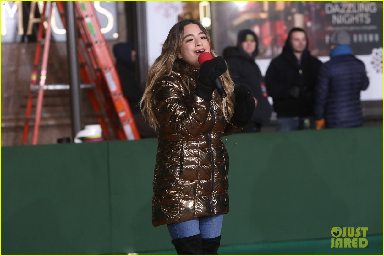 rita ora kane brown leona lewis more prep at macys thanksgiving parade 20