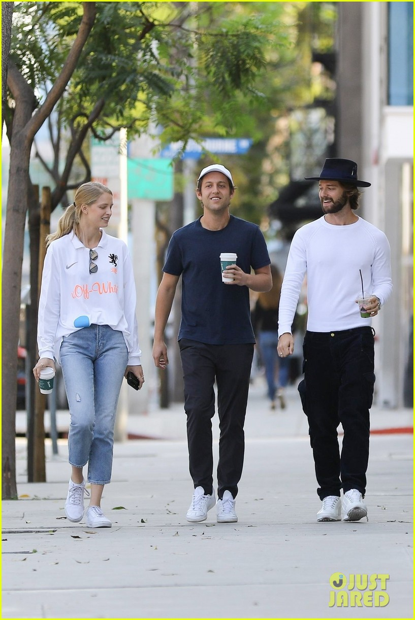 patrick schwarzenegger abby champion wear white months after labor day 03