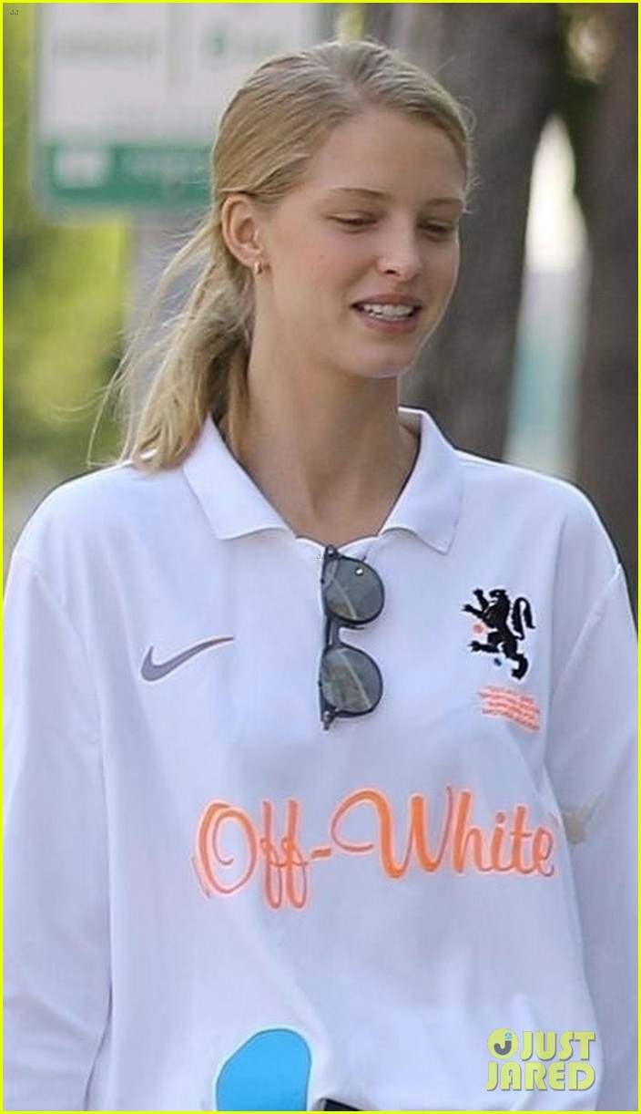 patrick schwarzenegger abby champion wear white months after labor day 04