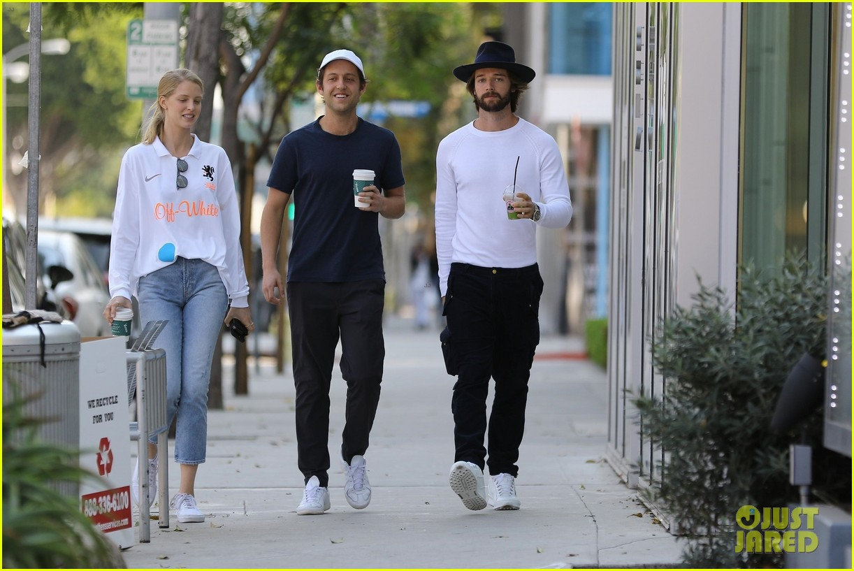 patrick schwarzenegger abby champion wear white months after labor day 05