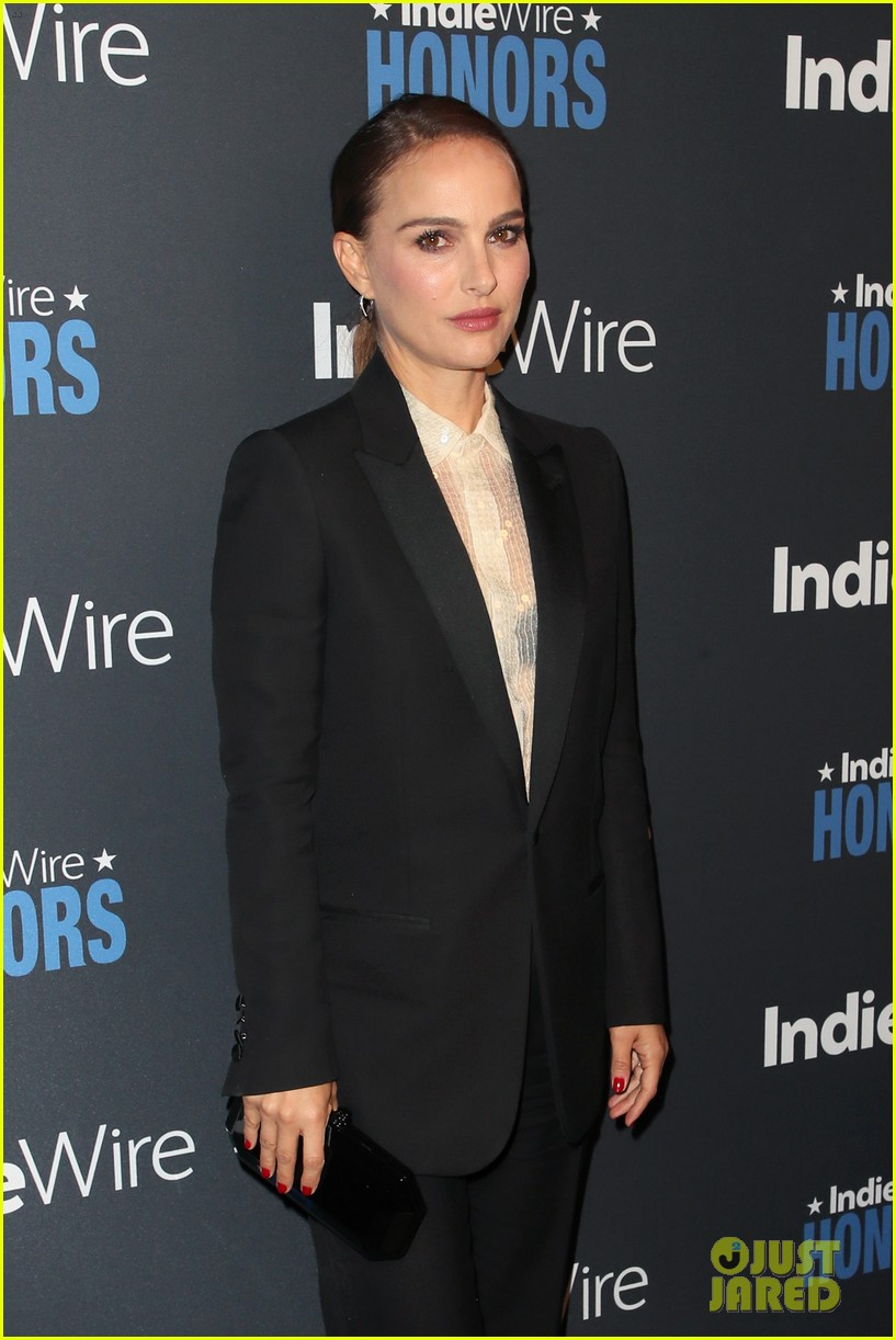 Natalie Portman & Charlize Theron Step Out in Style for IndieWire ...