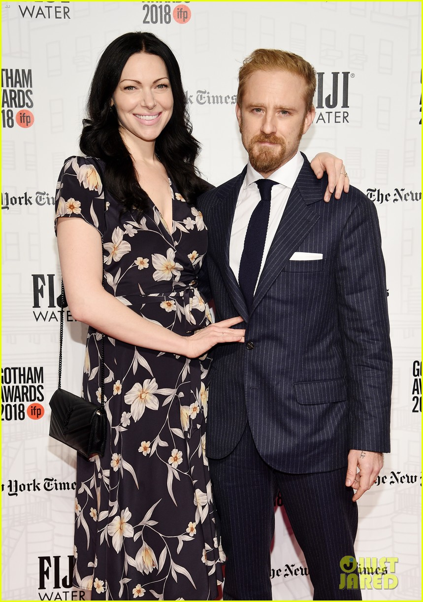 Laura Prepon & Ben Foster Couple Up at Gotham Awards 2018 ...