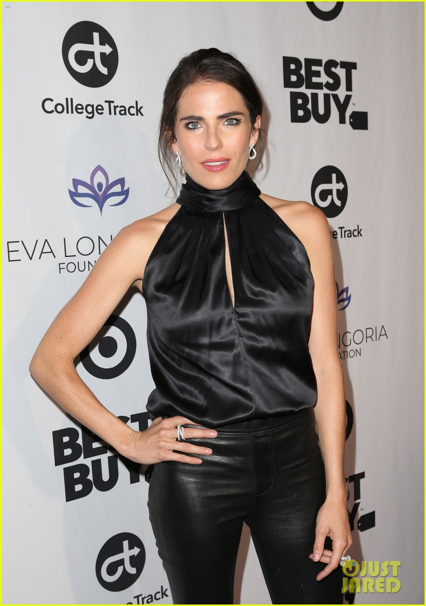 zoe saldana gets star studded support at eva longoria foundation dinner gala 444178932