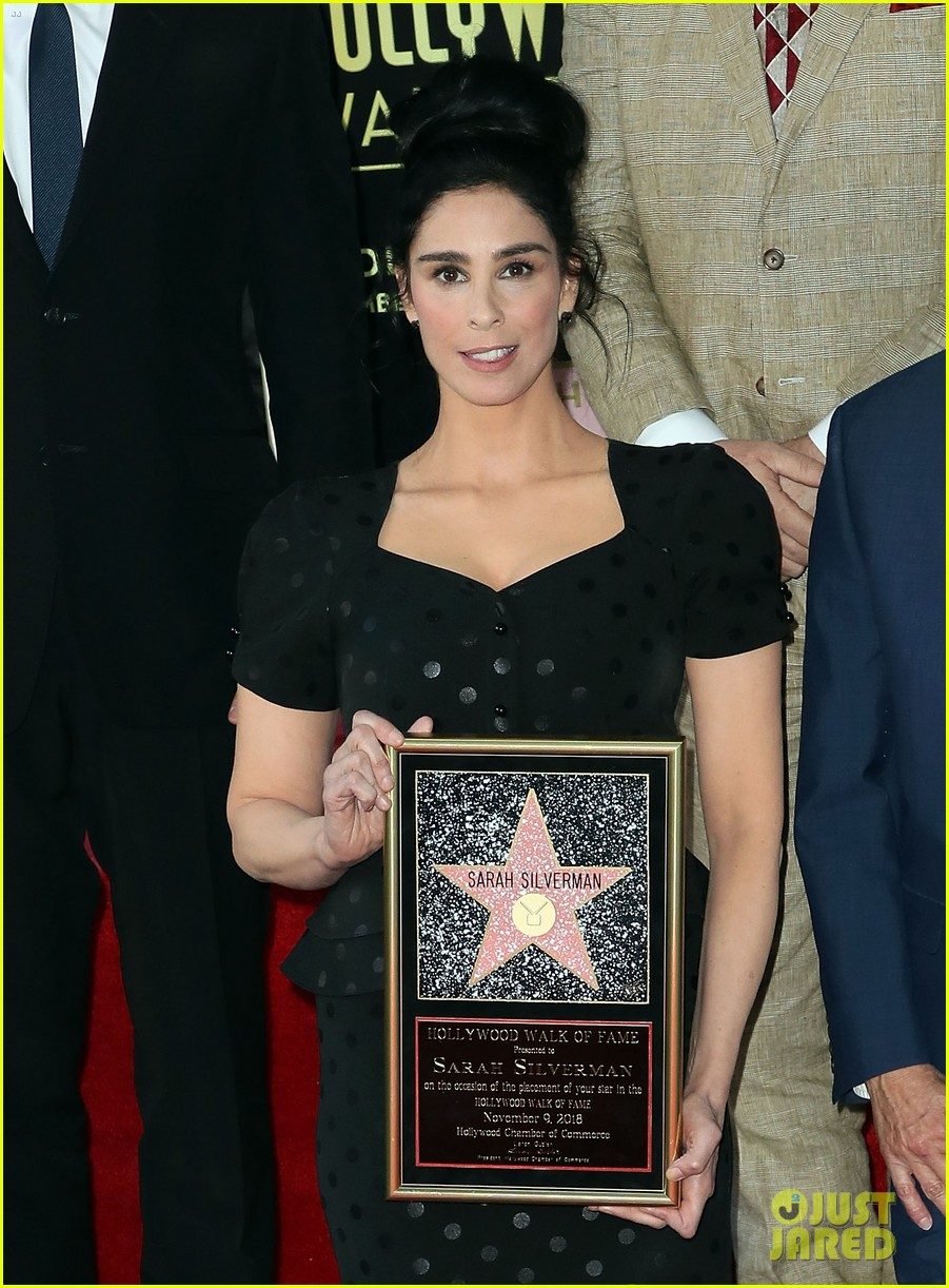 sarah silverman hollywood walk of fame ceremony 024179253