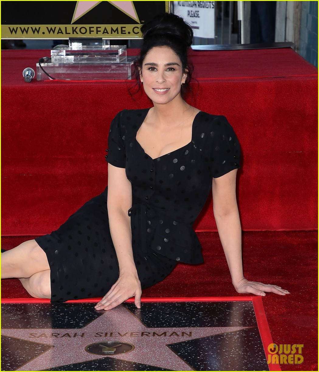 sarah silverman hollywood walk of fame ceremony 044179255