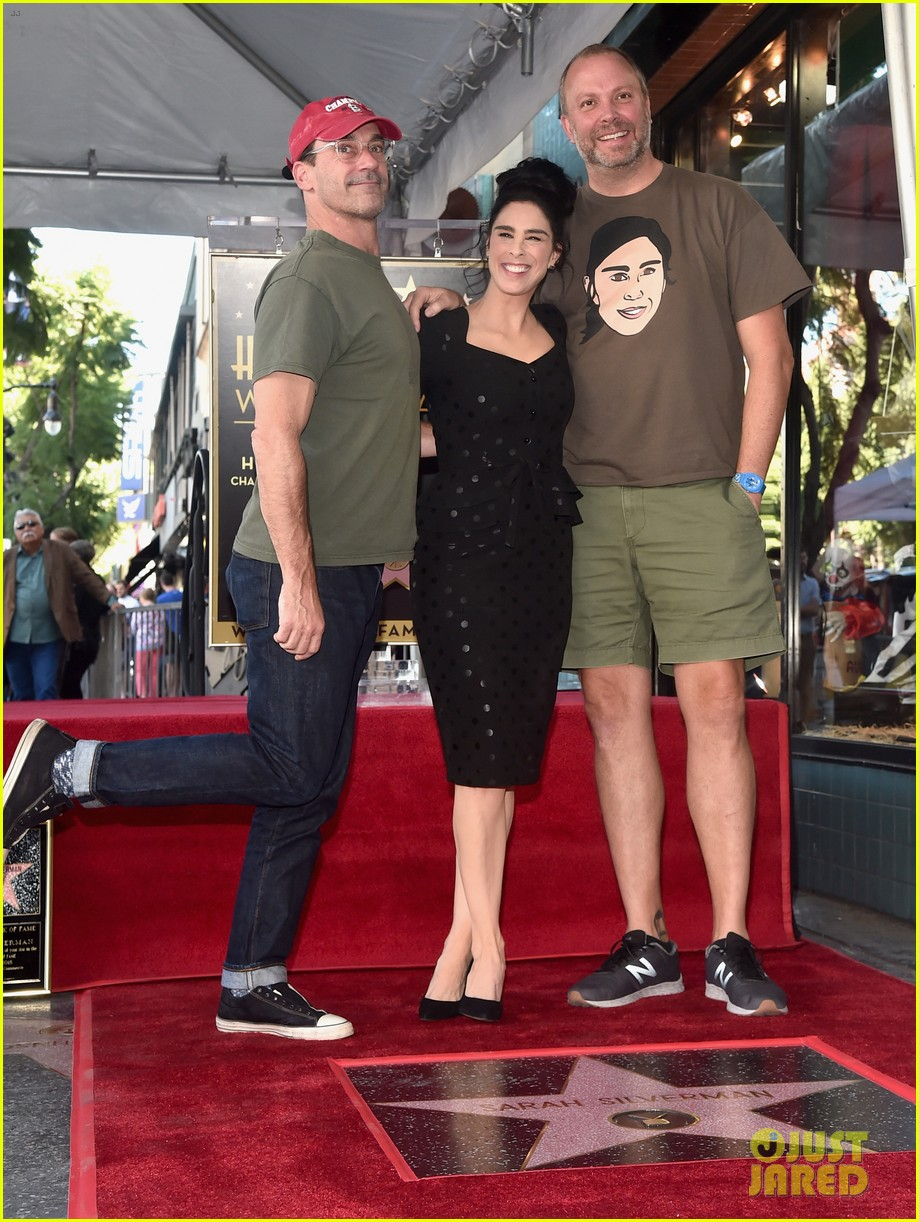 sarah silverman hollywood walk of fame ceremony 174179268