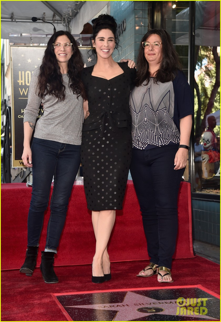 sarah silverman hollywood walk of fame ceremony 204179271