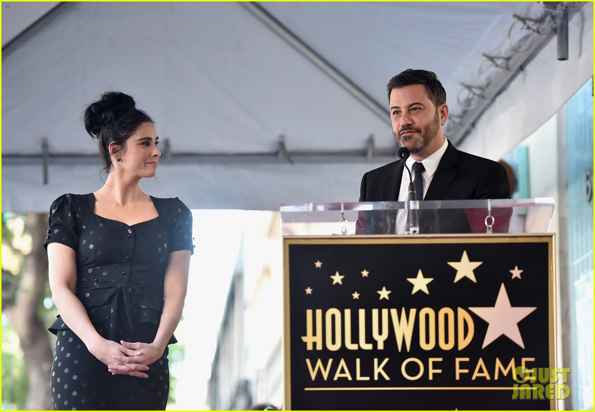 sarah silverman hollywood walk of fame ceremony 214179272