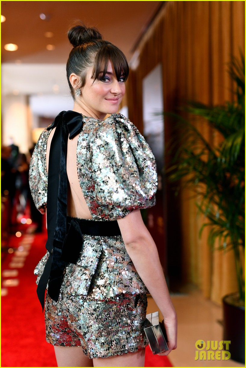 shailene woodley dazzles in metallic dress at hollywood film awards 2018 05