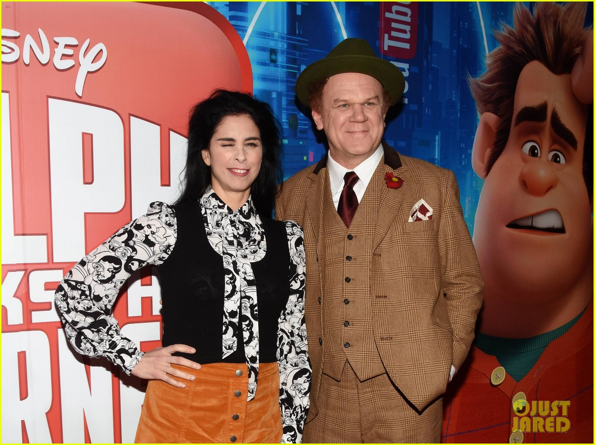 Sarah Silverman John C Reilly Bring Ralph Breaks The Internet To Ireland Photo 4186477 John C Reilly Sarah Silverman Pictures Just Jared