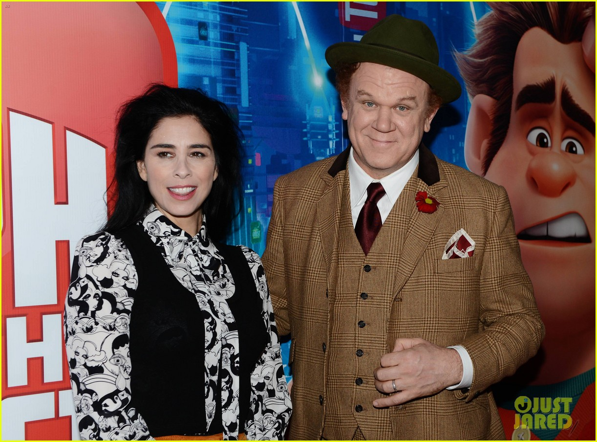 Sarah Silverman John C Reilly Bring Ralph Breaks The Internet To Ireland Photo 4186485 John C Reilly Sarah Silverman Pictures Just Jared