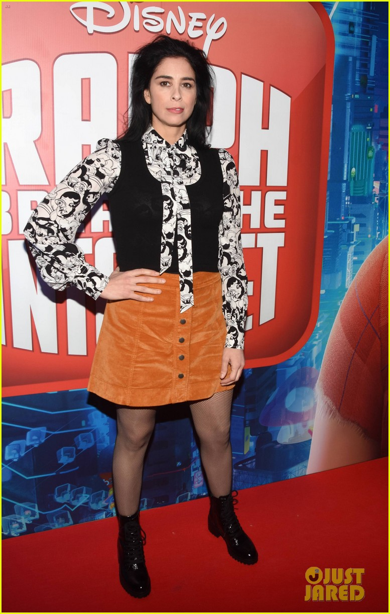 Sarah Silverman John C Reilly Bring Ralph Breaks The Internet To Ireland Photo 4186487 John C Reilly Sarah Silverman Pictures Just Jared