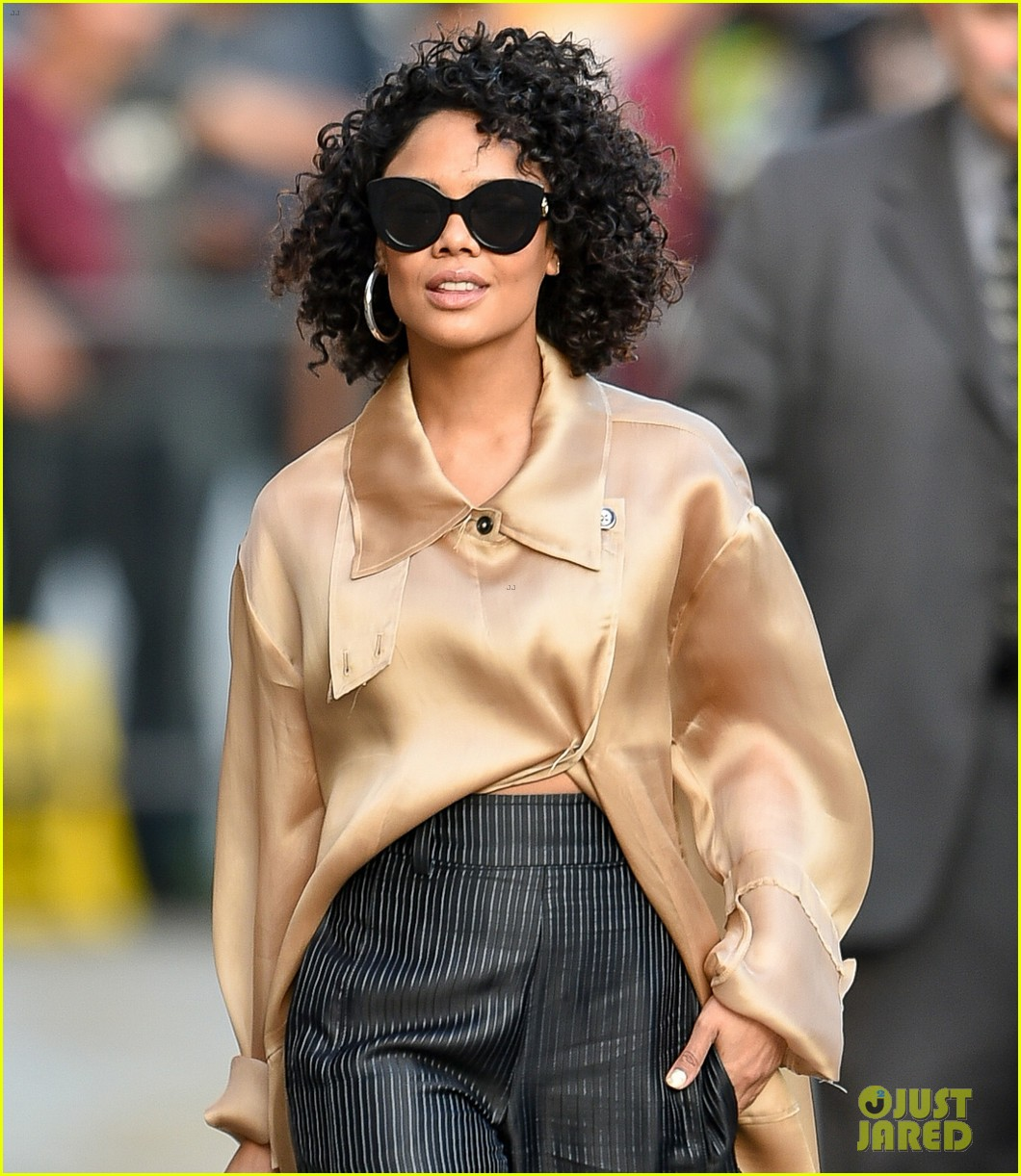 tessa thompson was casted in creed by sylvester stallone himself 01