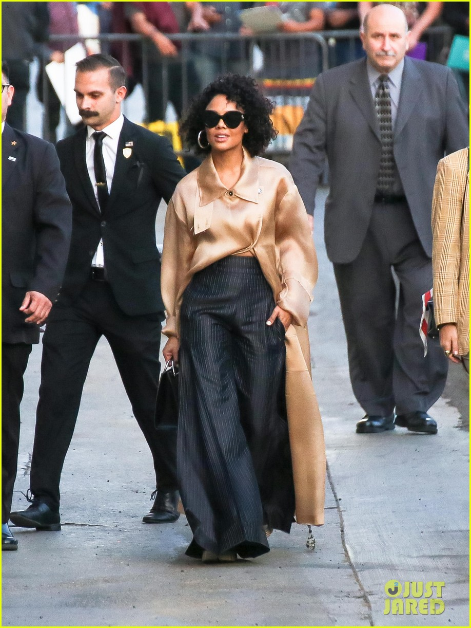 tessa thompson was casted in creed by sylvester stallone himself 02