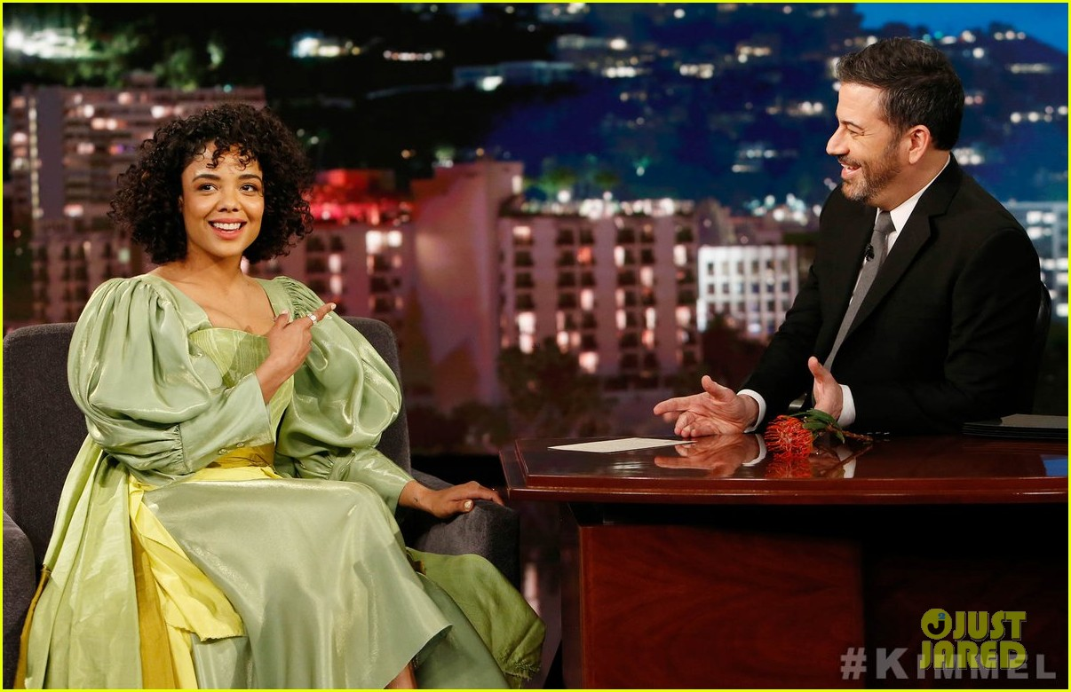 tessa thompson was casted in creed by sylvester stallone himself 03