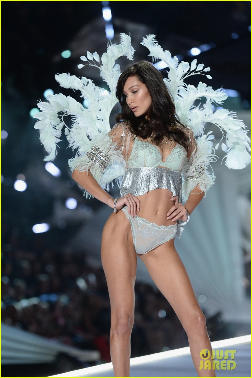 the weeknd supports bella hadid at victorias secret fashion show 274178646