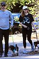 amy adams and husband darren le gallo enjoy a family hike 01