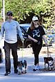 amy adams and husband darren le gallo enjoy a family hike 05