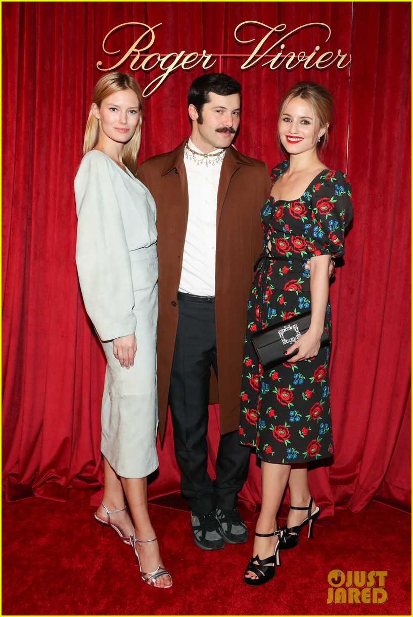 dianna agron chanel iman have special evening at hotel vivier 17