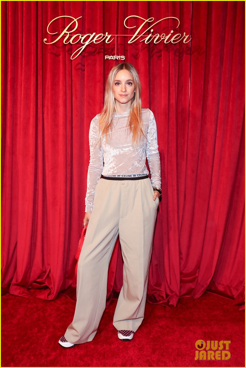 dianna agron chanel iman have special evening at hotel vivier 18